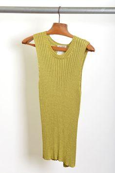 top tricot / rayon / YSL / anos 80' / tam.M / ♥ 150,