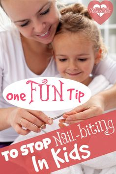 stop nail biting in kids