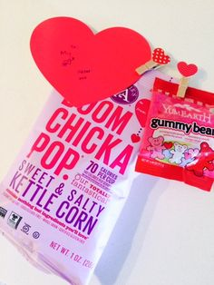 Valentine's Day #GlutenFree Ideas with YumEarth Gummy Bears and Angie's Boom Chicka Pop