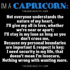 "Zodiac City - ""I'm A Capricorn! Words from a Capricorn. Capricorn Facts, Capricorn Quotes, Zodiac Signs Capricorn, Capricorn And Aquarius, My Zodiac Sign, Zodiac Facts, Taurus, Capricorn Lover, Capricorn Season"