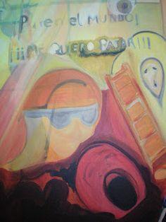 Acrílico sobre lienzo by Mireya Valero