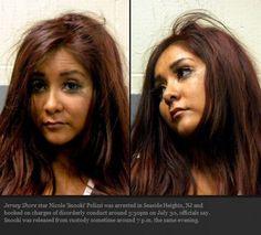 Nicole 'Snooki' Polizzi of JERSEY SHORE