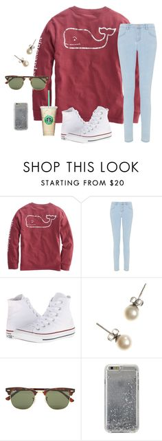 """""""I NEED A NEW ICON COMMENT A PERSON THAT MAKES GOOD ICONS"""" by mariaaa2003 ❤ liked on Polyvore featuring Miss Selfridge, Converse, J.Crew, Ray-Ban and Agent 18"""