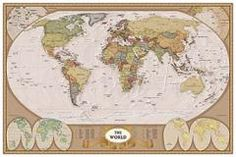 Anonymous Map Of The World