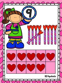 Math For Kids, Classroom Decor, Stickers, Board Ideas, Decoration, Infant Games, Goals, Thoughts, Teaching Aids