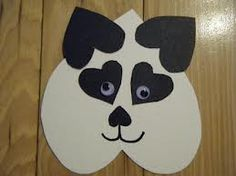 Heart panda soooo cute