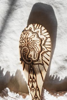 wood burned spoons by lkonstanski, via Flickr