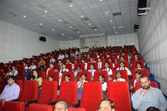 The audience watching the event held at the RA Bazar Primary School auditorium, Lucknow.
