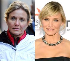 Stars Without Makeup: Cameron Diaz-sweetheart