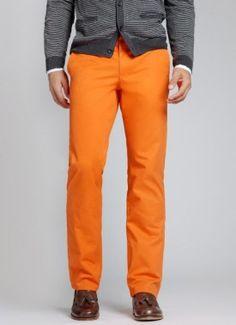 orange groomsmen pants Bonobos 275x379 Inspiration: Colorful Pants for the Guys