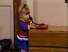 "Michelle Tanner in Full House Season 2 Episode 15 ""Pal Joey"""