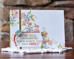 Every Child Card by Amy Sheffer for Papertrey Ink (April 2015)