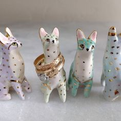 Ring Servals by me. Top ring by @rebeccahaas