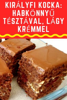Hungarian Desserts, Hungarian Recipes, Smoothie Fruit, Pizza Snacks, Cake Bars, No Bake Cake, Oreo, Dessert Recipes, Food And Drink