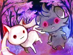 Kyuubey and espurr