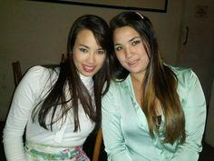Renta e Nicole minhas amadas filhas