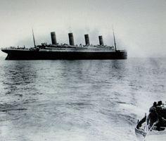 Titantic Leaving Queenstown ( now Cobh )