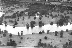 Redgrave Park, Suffolk. House and park redesigned and lake created by Capability Brown 1765-1773.
