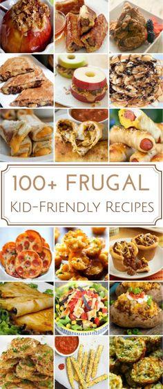 120 frugal kid friendly recipes
