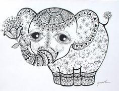 elephant, cool tattoo idea!!