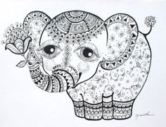 If I were to get a tattoo. Paisley elephant in the tall grass.