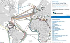 Submarine Cable Map  Shows all underwater cables and who owns them.Follow @producthuntlive