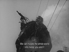 tetsuo the iron man | Tumblr