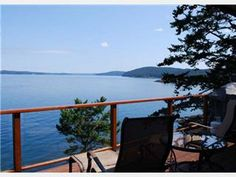Waterfront Home, Amazing Views, Private Cove, Hot Tub & Dog Friendly Too!