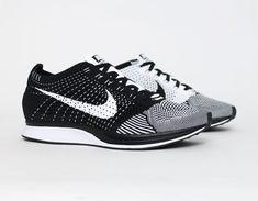 5df35677562  Nike  Flyknit Racer White Black  Running  Sneakers Nike Leggings