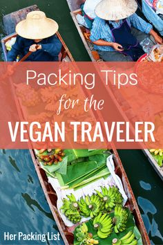 After seeing friends struggle with travel because of their dietary needs, this post from 30Traveler is a welcome one. Here she provides a list of items to pack that have made it easier to travel as a vegan.