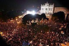 Piazza G Giovanni Roma 22 .02.2013 #M5S