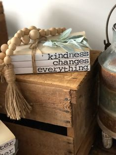 Farmhouse Style Stamped Stacked Book Set on Mercari Farmhouse Books, Farmhouse Style, Farmhouse Decor, Chalk Paint Projects, Wood Projects, Book Decorations, Stacked Books, Mantle Shelf, Recycled Books