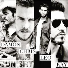 Casting Couch for Gun Shy <3 Chris Pine, Chris Wood, Liam Hemsworth, Jon Bernthal www.readgunshy.com