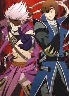 Masamune and Motochika, Sengoku Basara