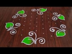 Easy rangoli Simple rangoli Latest flower design rangoli Thanks for watching 🙏🙏 Please like share comment below for more v. Rangoli Designs Images, Rangoli Designs With Dots, Beautiful Rangoli Designs, Rangoli Simple, Small Rangoli, Simple Flower Design, Flower Designs, Motor Skills Activities, Fine Motor Skills