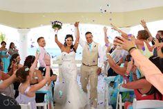 Church Wedding at Moon Palace Cancun Resort