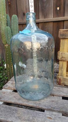 Vintage Distillata 5 Gallon Glass Jumbo Water Jug Usa