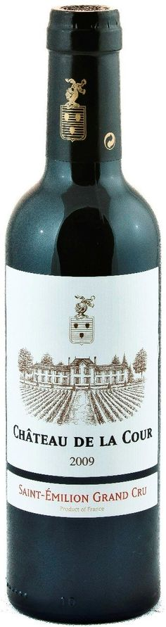 Chateau de la Cour Saint Emilion Grand Cru Half Bottle   Mitchell and Son Wine - Mitchell and Son Wine Merchants Wine Merchant, Bordeaux Wine, St Emilion, Red Fruit, Wine Online, Whiskey Bottle, Red Wine, Yard, Bordeaux