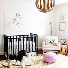 """Our #CHILDMags Guest Instagramers @onefinebaby have spied some neutral nursery inspiration via @laybabylay. ""It started out as a gender neutral room and…"""