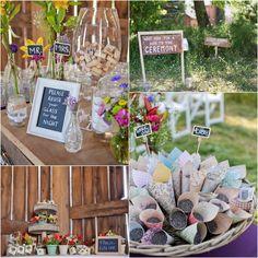 Earthy Farm Wedding