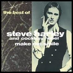 Hits of the Artist Watch: Steve Harley and Cockney Rebel 70s Music, Film Music Books, Make Smile, I Smile, 70s Artists, Steve Harley, The Big Hit, Old School Music, Lp Cover