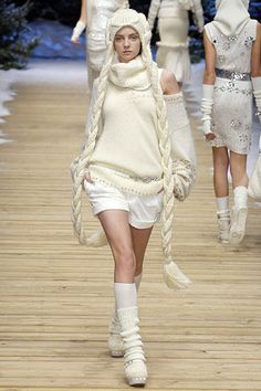 Fluid Motion: [knitting] D&G Fall 2006 Ready-to-Wear Collection