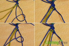Do you guys want to make a cool braided bracelet? Then just look here, this Pandahall tutorial on how to make ethnic braided friendship bracelet with nylon thread is a perfect choice for you. Friendship Bracelets Designs, Bracelet Designs, Diy Fashion Projects, Cool Braids, How To Make Necklaces, Braided Bracelets, Hand Embroidery, Ethnic, Handmade