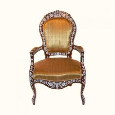 Mother of pearl istanbuli chair