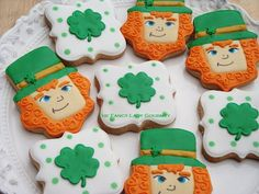 Cupcakes and Corsets: St Patricks Day Cookies Giveaway