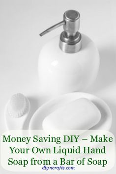 Wow this is so awesome! Money Saving DIY – Make a Gallon of Liquid Hand Soap from a Bar of Soap