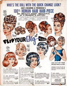 Frederick's of Hollywood — Flip Your Wig, 1965