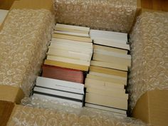 Packing books properly can ensure that they don't get ruined when moving. Watch this About.com video for instructions on how to pack books when moving.