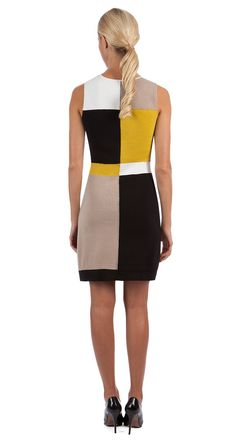 Paule Ka   Milano dress Short Dresses, Dresses For Work, Formal Dresses, Vestido Multicolor, Hijab Fashion, Fashion Outfits, Costume Shop, Cute Girl Outfits, Colorblock Dress