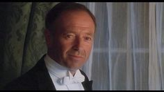 """MK sportin' the white tie and the smoulder. Still photo from """"Mrs. Dalloway"""" (1997)."""